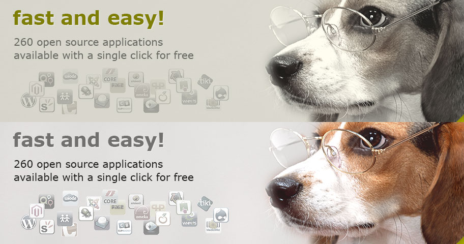 Install apps ... fast and easy!